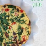 Veggie Crustless Quiche