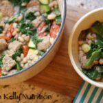 White Bean Kale and Sausage Stew