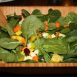 Apple Walnut Cranberry Baby Spinach Salad