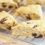 Whole Wheat Lemon Berry Scones