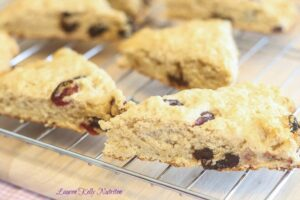 Lemon Berry Scones - Lauren Kelly Nutrition