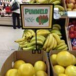It's not a grapefruit, it's not a lemon, or an orange….it's a PUMMELO!