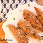 Healthy Parmesan and Flax Crusted Chicken