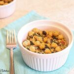 Chickpea Salad with Spinach - Lauren Kelly Nutrition