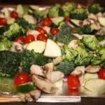 Roasted Vegetable Wheat Berry Salad