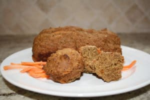 Applesauce Carrot Spice Muffins (and Bread)