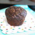 Double Chocolate Quinoa Muffins {Gluten Free}