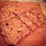 Cranberry Apple Granola Cookie Bars
