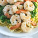 Healthy Shrimp Scampi ~ Ready in 15 Minutes