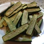Simple Baby Zucchini Parmesan Sticks
