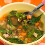 Lentil and Sausage Soup with Quinoa and Kale