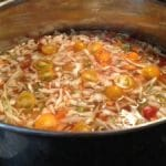 Fresh Vegetable Bean Soup