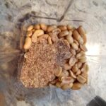 Homemade Peanut Butter with Flax Seed