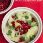 Jicama Avocado Pomegranate Salad