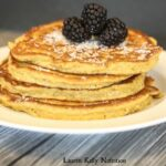 Coconut Flour Pancakes {Gluten and Wheat-Free, Low Carb- Keto Option}