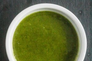 Simple Pesto Recipe from Lauren Kelly Nutrition