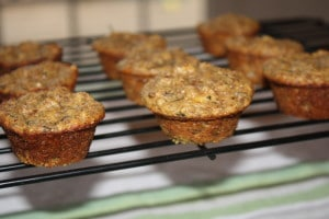 Green Tea Quinoa Muffins
