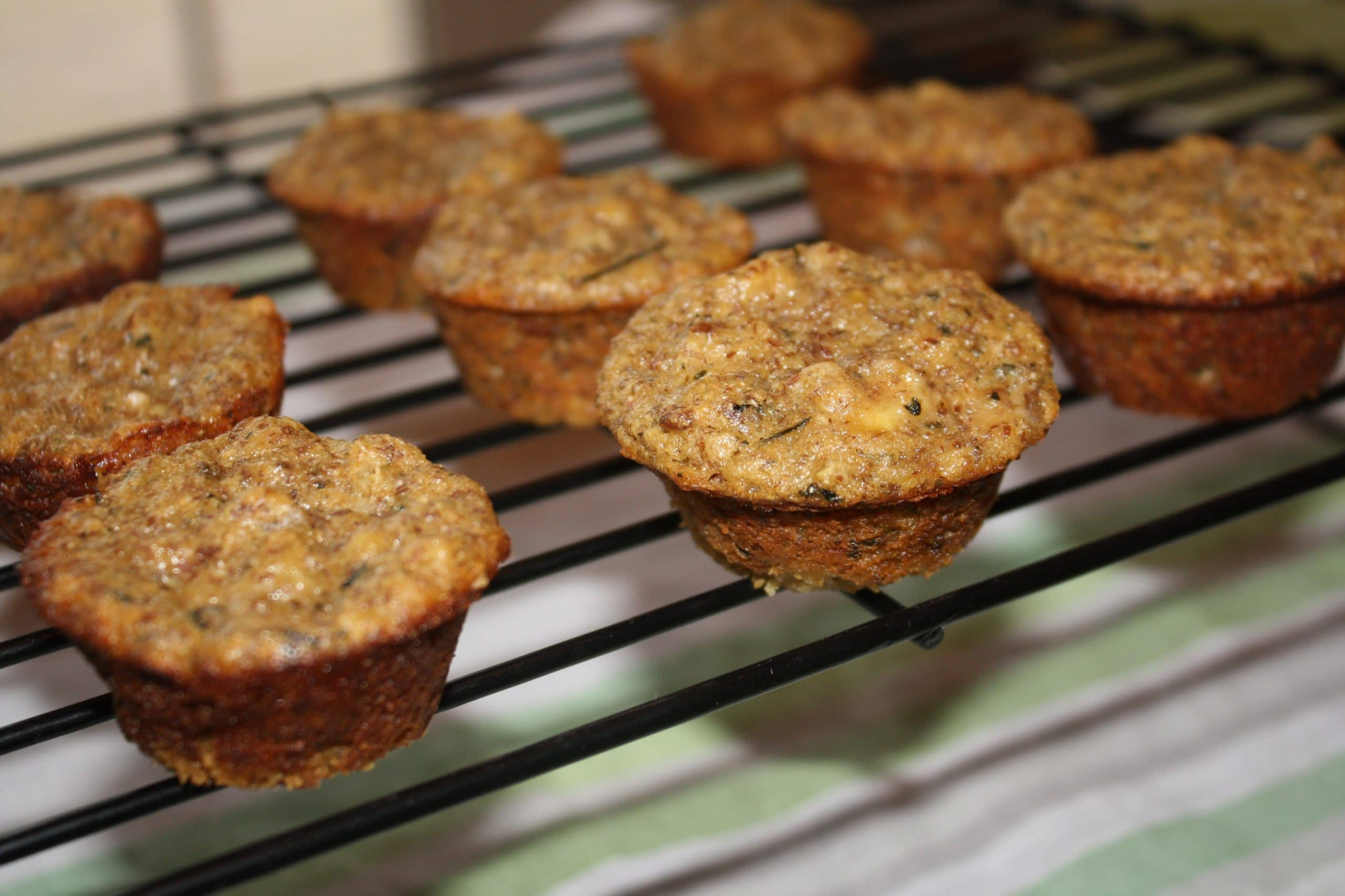 Green Tea Quinoa Muffins