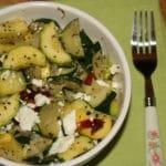 Fresh Zucchini, Fennel & Feta