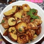 Cilantro and Lime Roasted Potatoes