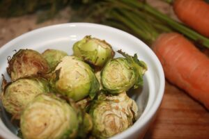 Simple Roasted Brussels Sprouts