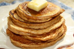 Pumpkin Protein Pancakes from Lauren Kelly Nutrition