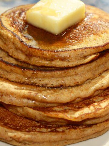Pumpkin Protein Pancakes from Lauren Kelly Nutrition