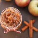 Unsweetened Pear Applesauce in the Slow Cooker
