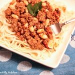Spicy Bolognese Sauce with Beans