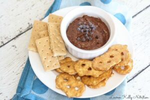 Healthy Chocolate Cookie Dough Dip