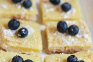 Lemony Cookie Bars, Sensational Summer Desserts
