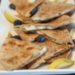 These Easy Pear Quesadillas take minutes to make and satisfy your sweet and salty craving!