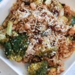 Vegetable Parmesan Quinoa made in the Slow Cooker