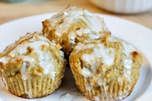 Glazed Key Lime Muffins