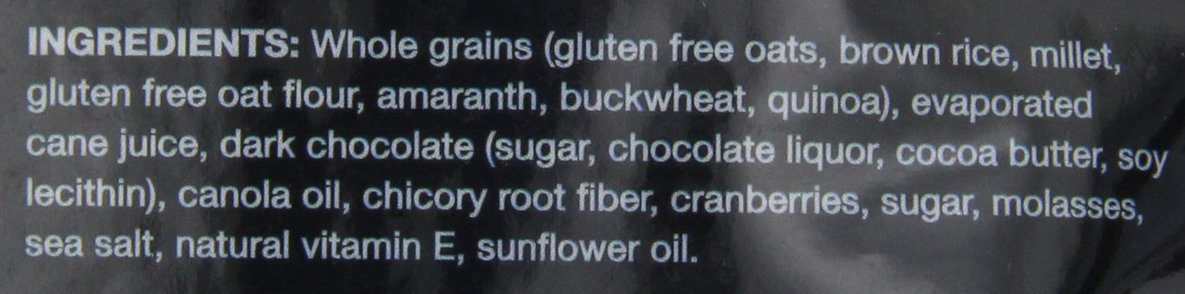 Ingredients Kind Granola