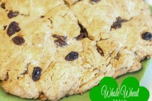 Healthy Whole Wheat Irish Soda Bread
