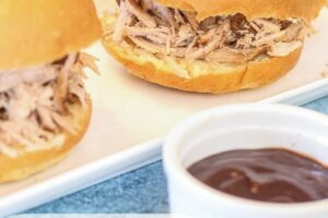 Slow Cooker Pulled Pork - Lauren Kelly Nutrition