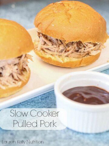 Slow Cooker Pulled Pork - Lauren Kelly Nutrition