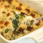 Cheesy Quinoa and Bacon Casserole - Lauren Kelly Nutrition