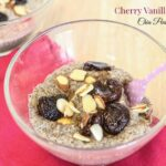 Cherry Vanilla Almond Chia Pudding