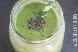 My Favorite Green Smoothie | Lauren Kelly Nutrition