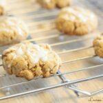 Iced Lemon Cookies - Lauren Kelly Nutrition