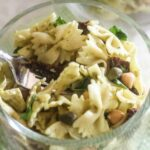 Italian Pest Pasta Salad - Lauren Kelly Nutrition