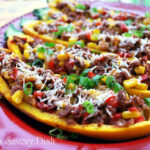 Stuffed Tex Mex Squash