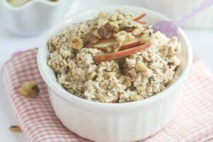 Apple Pie Overnight Oats   Lauren Kelly Nutrition