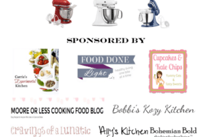 Stars & Stripes KitchenAid 5qt. Artisan Stand Mixer #Giveaway