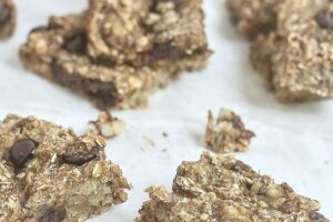 Banana Coconut Bars from Lauren Kelly Nutrition #vegan #glutenfree #dairyfree