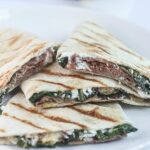Prosciutto Fig Quesadillas
