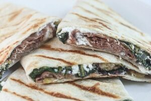 Prosciutto Fig Quesadilla - Lauren Kelly Nutrition