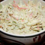 Creamy Healthy Coleslaw